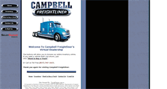 Preview of campbellfreightliner.net